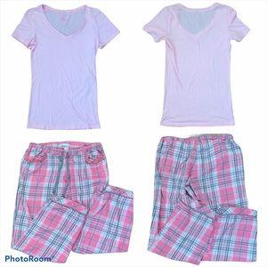 Victoria's Secret pajama set size medium plaid